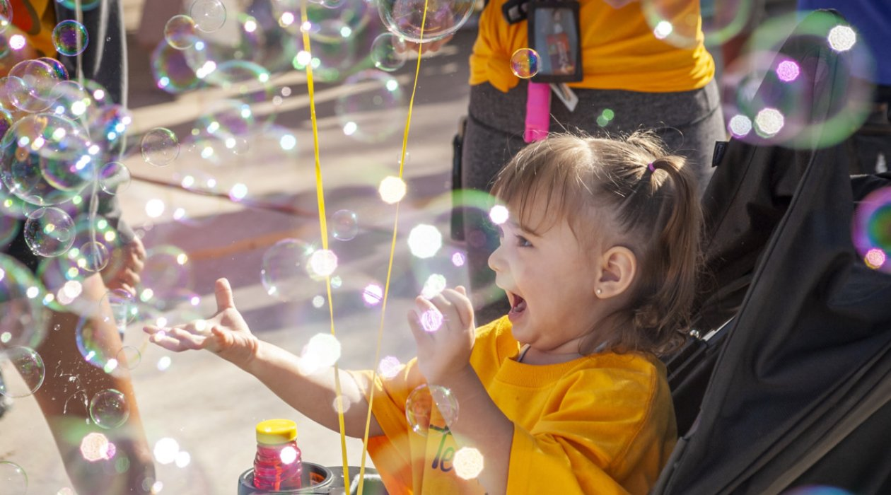 The Autism Society of Southern Arizona Bubbles